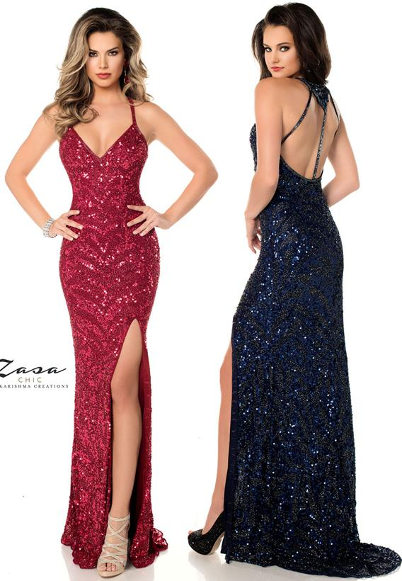 Beaded Tulle Midnight,Wine Z2062